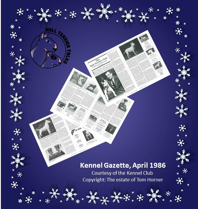 Kennel Gazette April 1986